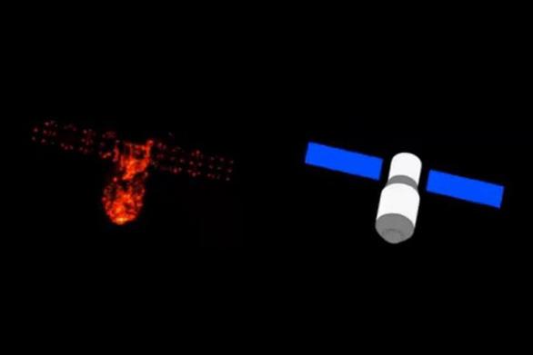 Trạm không gian Thiên Cung 1 đang rơi, vừa xẹt qua bầu trời Malaysia - Ảnh 1.
