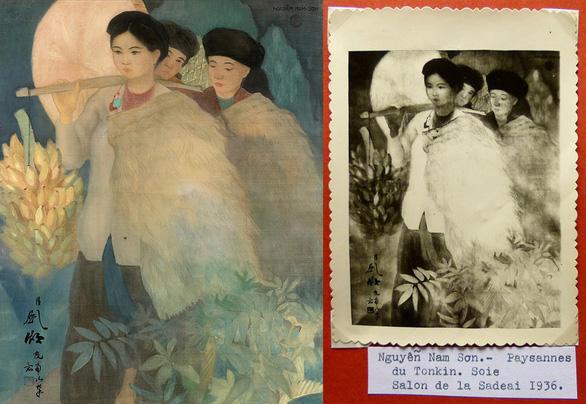 Thôn nữ Bắc Kỳ - bức tranh vừa bán 205.000 euro bị nghi giả - Ảnh 1.