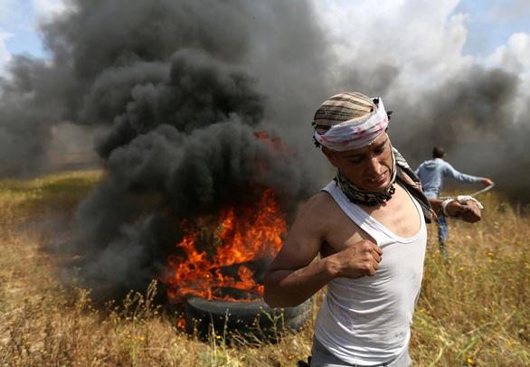 16 người Palestine thiệt mạng trong biểu tình tại Gaza - Ảnh 1.