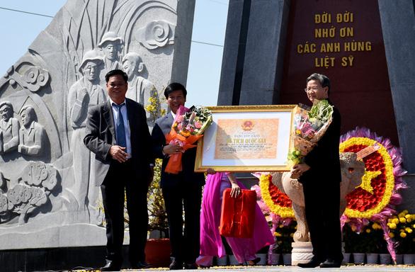 Nơi diễn ra chiến dịch Mậu Thân ở Phú Yên thành di tích quốc gia - Ảnh 1.