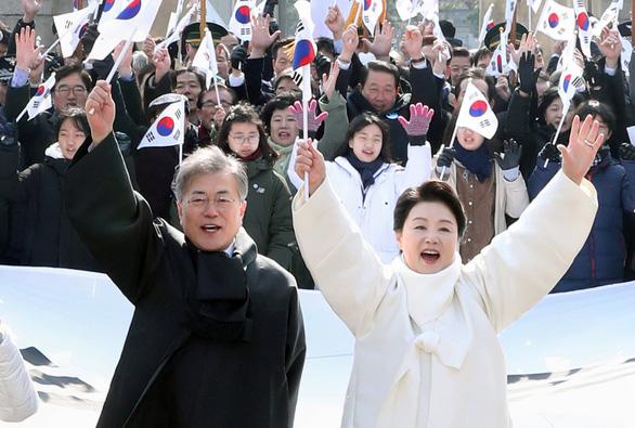 Hai trùm an ninh Hàn Quốc làm phái viên sang Triều Tiên - Ảnh 1.