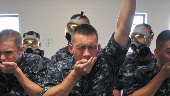Lính hải quân Mỹ rèn luyện như siêu nhân - Ảnh 6.