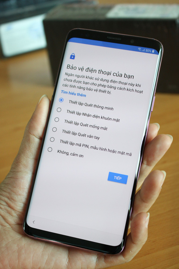 Khui hộp smartphone Samsung Galaxy S9+ - Ảnh 7.