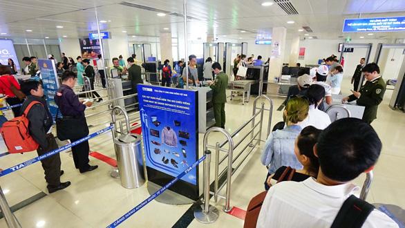 Chấn chỉnh an ninh sân bay - Ảnh 2.