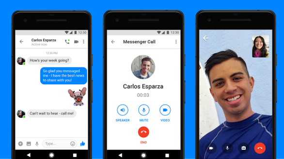 Facebook bổ sung tính năng chat video cho Messenger Lite - Ảnh 1.