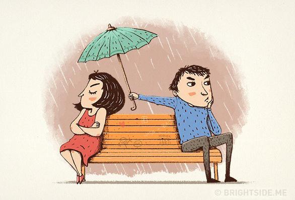 Những dấu hiệu của một tình yêu đẹp - Ảnh 3.