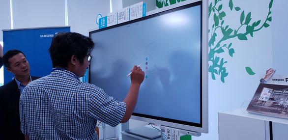 Samsung ra mắt bảng điện tử Samsung Flip - Ảnh 1.