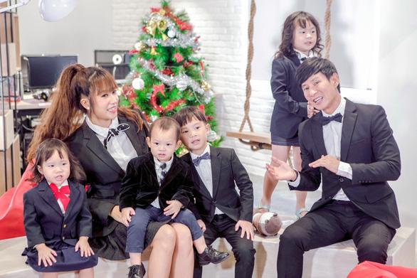 4 nhóc nhà Lý Hải dễ thương trong MV nhạc phim Lật mặt 3 - Ảnh 4.