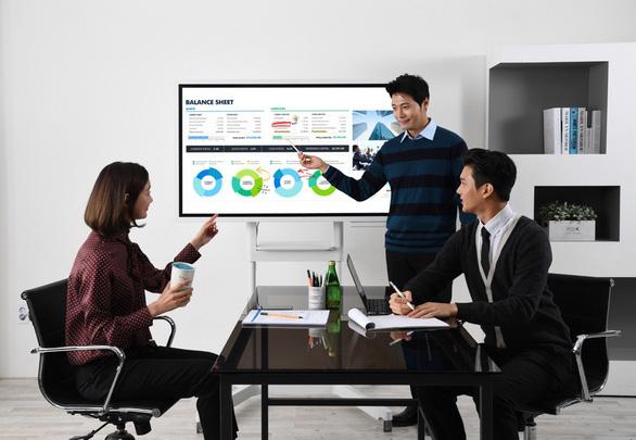 Samsung tái định nghĩa cuộc họp hiện đại với Flipchart - Ảnh 2.