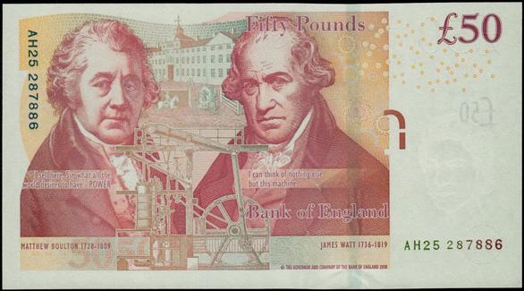 Những nhà khoa học nổi tiếng được in lên tiền - Ảnh 15.