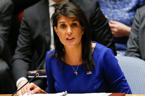 Mỹ cảnh báo Syria đừng ngu ngốc thử Mỹ - Ảnh 1.