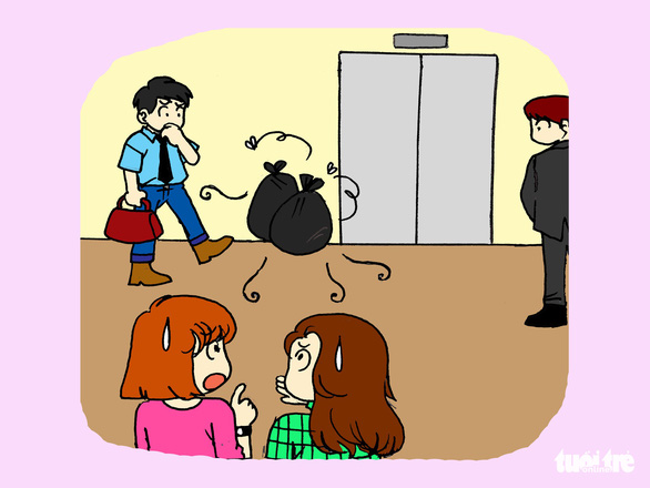 Hí họa: Cư xử thế nào để khỏi bị ghét khi ở chung cư? - Ảnh 6.
