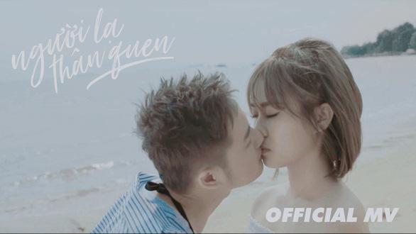 Thanh Duy táo bạo ướt át trong MV Người lạ thân quen - Ảnh 3.