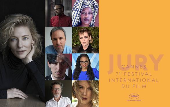 Kristen Stewart, Trương Chấn chấm giải Cành cọ vàng tại Cannes 2018 - Ảnh 1.