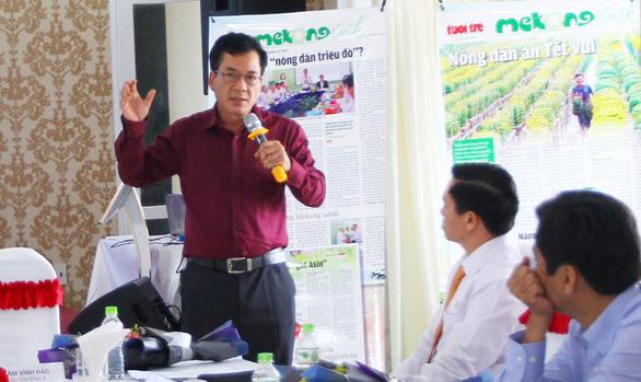 Tọa đàm Giải pháp ứng phó hạn mặn các tỉnh ĐBSCL - Ảnh 3.