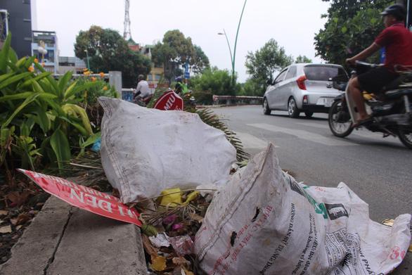 Sài Gòn ra đường là gặp rác thải - Ảnh 1.