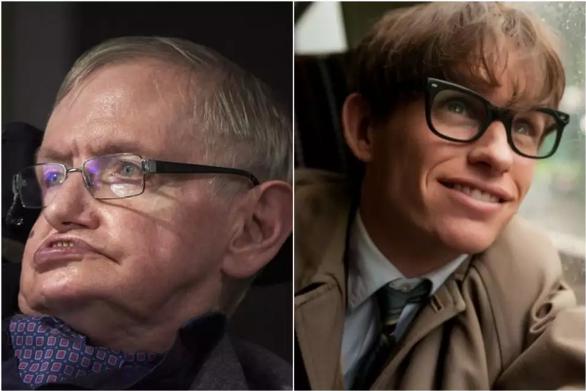 Stephen Hawking trên phim tiễn Stephen Hawking đời thực - Ảnh 3.
