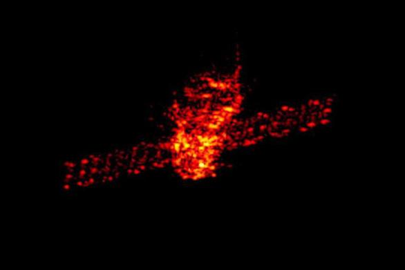 Trạm không gian Trung Quốc bốc cháy trên nam Thái Bình Dương - Ảnh 1.