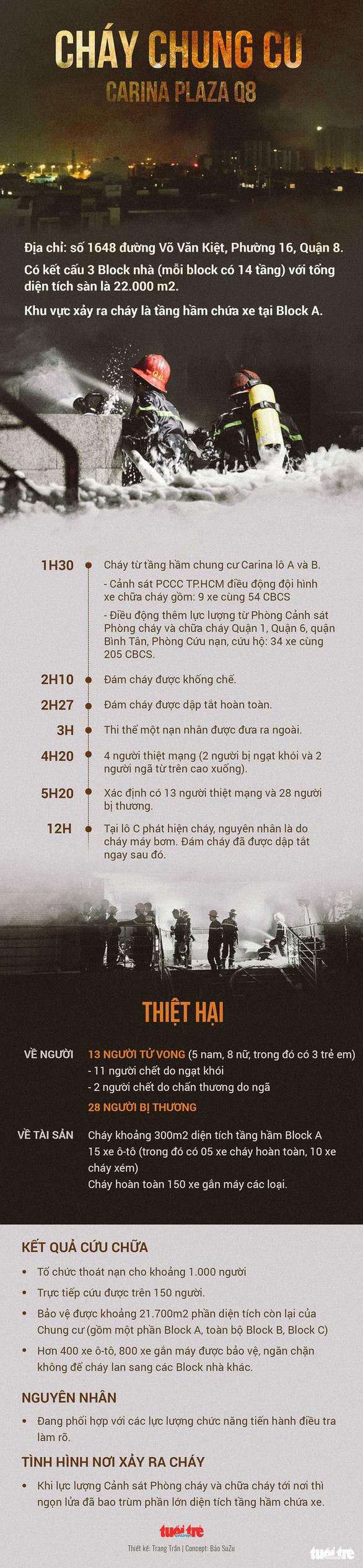 Vụ cháy chung cư Carina: Khởi tố, bắt tạm giam nguyên giám đốc công ty Hùng Thanh - Ảnh 3.