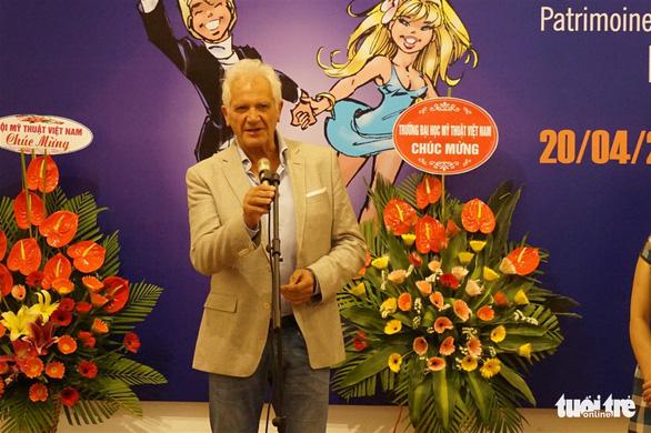 Nghệ sĩ truyện tranh người lớn của Bỉ tới Việt Nam - Ảnh 1.