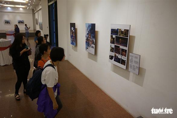 Nghệ sĩ truyện tranh người lớn của Bỉ tới Việt Nam - Ảnh 2.