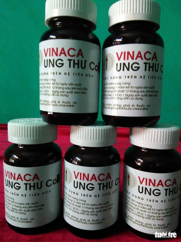 Khởi tố, điều tra vụ Vinaca sản xuất thuốc chữa ung thư từ tro than - Ảnh 3.