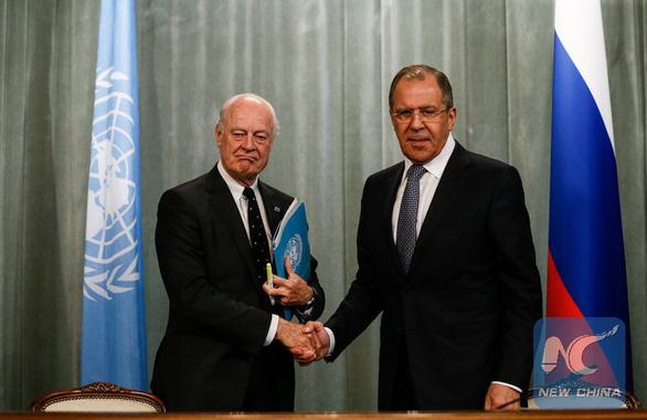 Nga xác nhận Mỹ không đụng 'ranh giới đỏ' khi không kích Syria - Ảnh 1.