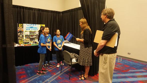 HS Việt Nam giành giải thưởng cao cuộc thi Khoa học ứng dụng quốc tế tại Mỹ - Ảnh 3.