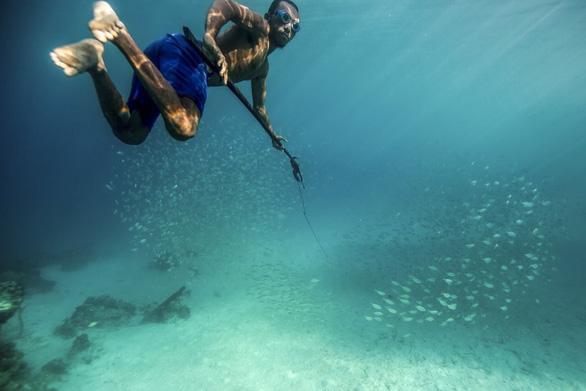 Người bơi lặn như rái là có thật? - Ảnh 9.