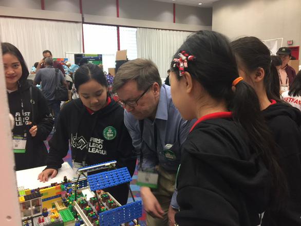 HS Việt Nam giành giải thưởng cao cuộc thi Khoa học ứng dụng quốc tế tại Mỹ - Ảnh 2.