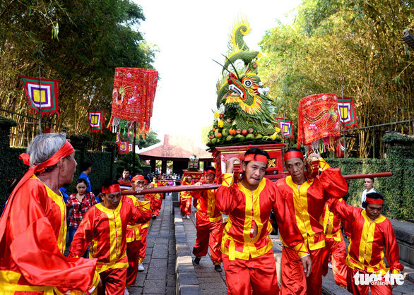 Hàng ngàn người dự giỗ Tổ Hùng Vương tại TP.HCM - Ảnh 5.