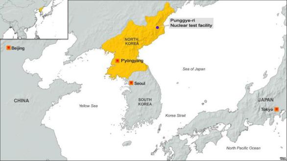 Bãi thử hạt nhân của Triều Tiên đã sập tan tành - Ảnh 2.