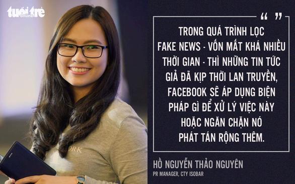 Facebook không dễ xử lý triệt để tin giả? - Ảnh 1.