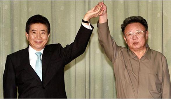 Thượng đỉnh liên Triều 2007 từng bị hoãn vì lũ lụt - Ảnh 1.
