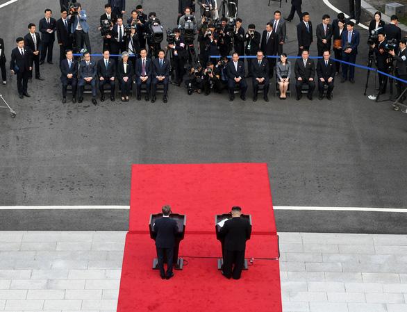 Hàn Quốc - Triều Tiên cùng tuyên bố sẽ không còn chiến tranh - Ảnh 4.