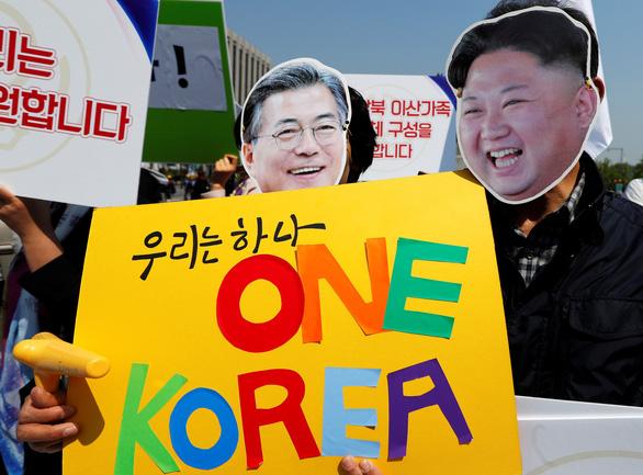 Câu chuyện về lá cờ thống nhất Triều Tiên - Ảnh 1.