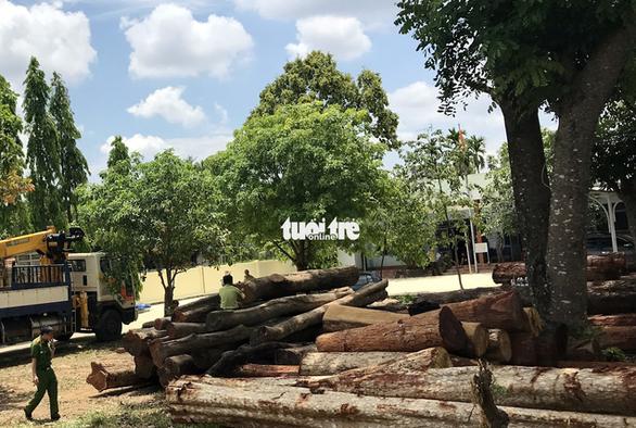 Bộ Công an vào bắt trùm gỗ lậu ở Đắk Nông - Ảnh 1.