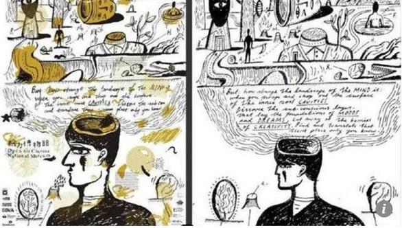 Giáo sư Trung Quốc bị sa thải vì đạo tranh của họa sĩ Anh - Ảnh 2.