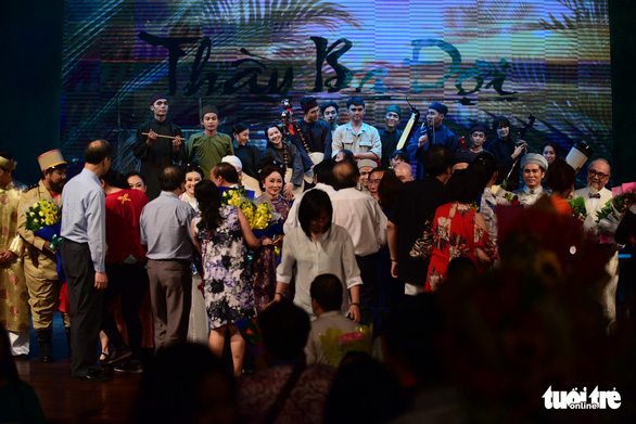 Trăm năm cải lương xúc động đêm diễn tôn vinh thầy Ba Đợi - Ảnh 22.