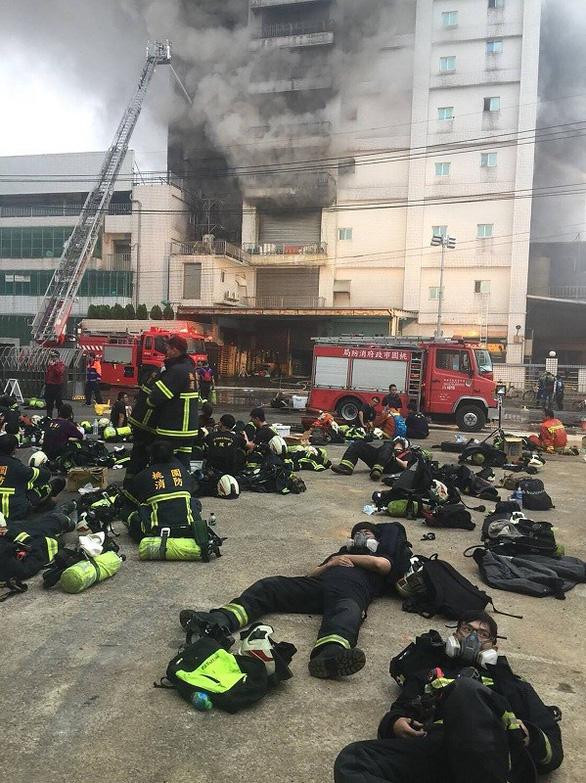 Cháy lớn tại nhà máy ở Đài Loan có nhiều lao động Việt Nam - Ảnh 5.