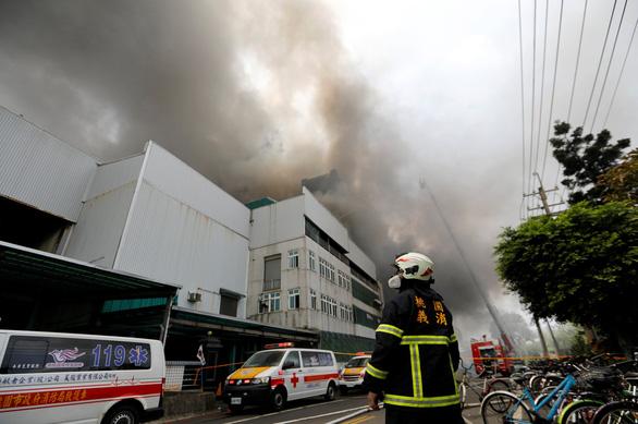 Cháy lớn tại nhà máy ở Đài Loan có nhiều lao động Việt Nam - Ảnh 4.