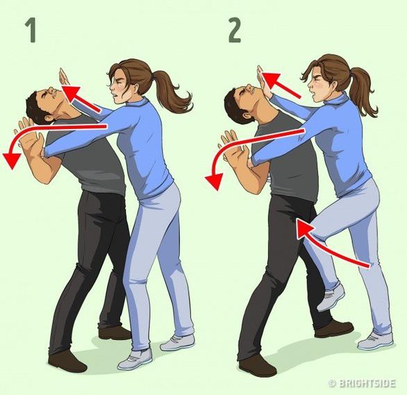7 chiêu tự vệ đơn giản cho các nàng khỏi yêu râu xanh - Ảnh 5.