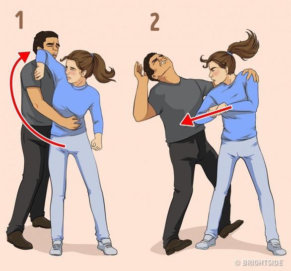 7 chiêu tự vệ đơn giản cho các nàng khỏi yêu râu xanh - Ảnh 8.
