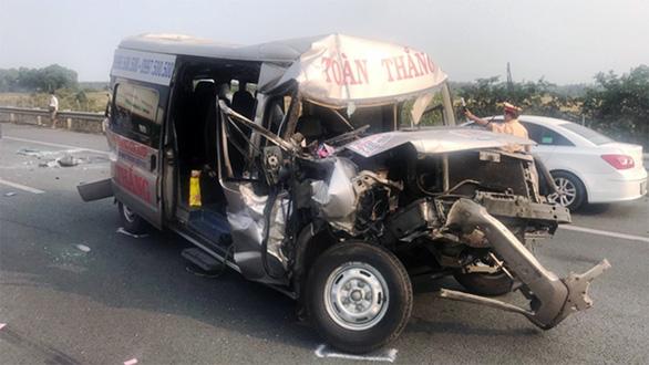 Khói mù mịt, nhiều xe tông nhau trên cao tốc TP.HCM - Long Thành - Ảnh 15.