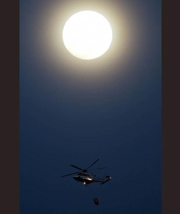 Ngắm trăng xanh lần thứ hai trong năm 2018 - Ảnh 1.