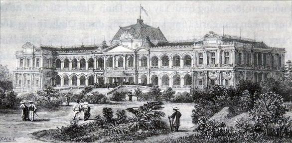 Đọc lịch sử thăng trầm 150 năm của Hội trường Thống Nhất - Ảnh 1.