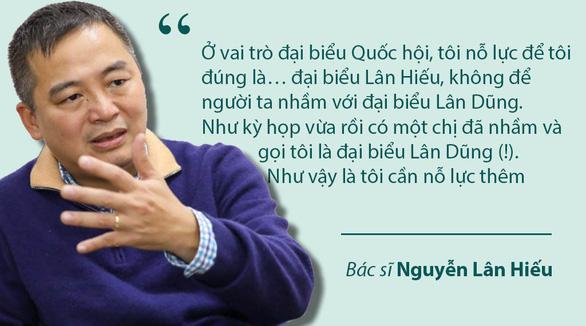 Bác sĩ Nguyễn Lân Hiếu và áp lực con ông này, cháu ông nọ - Ảnh 2.