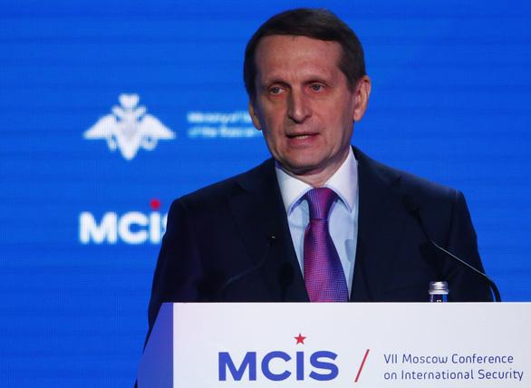 Trùm tình báo Nga nói gì về vụ đầu độc cựu điệp viên trên đất Anh? - Ảnh 1.