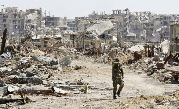 Mỹ buông Syria - nước cờ cao của ông Trump? - Ảnh 1.