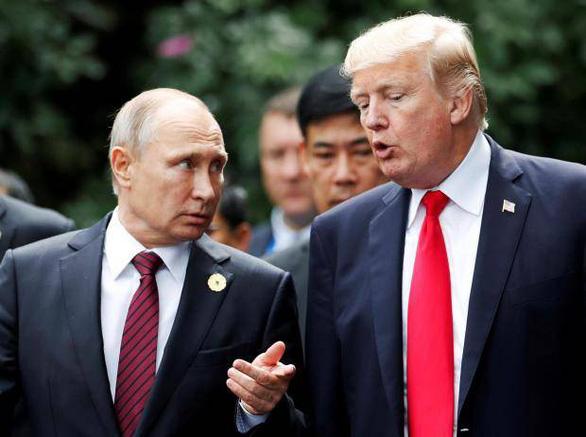 Ông Trump khoe là 'người cứng rắn nhất với Nga' - Ảnh 2.